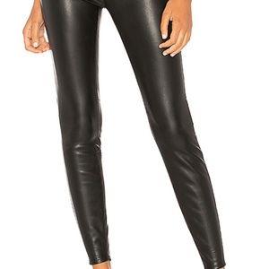NWT Free People Vegan Leather Skinnies ~29